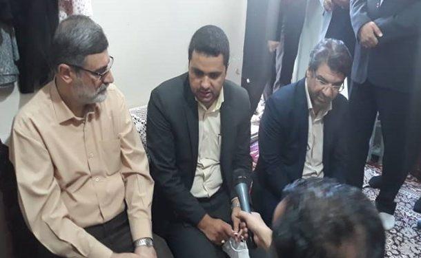 بازدید نایب رئیس مجلس از شهرک جذامیها در مشهد/ تأکید بر احصاء سریع داراییهای بیماران