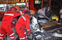 افسرنگهبانی آتشنشانی شهر مشهد گفت: برخورد پراید با تریلی در بزرگراه میثاق مشهد دو مجروح بر جای گذاشت.