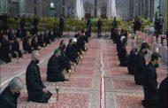 برگزاری آئین سنتی شام غریبان امام حسین علیه السلام در بارگاه منور رضوی
